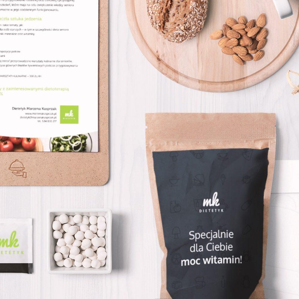 Branding, projektowanie logo, materiały promocyjne, gadżety reklamowe