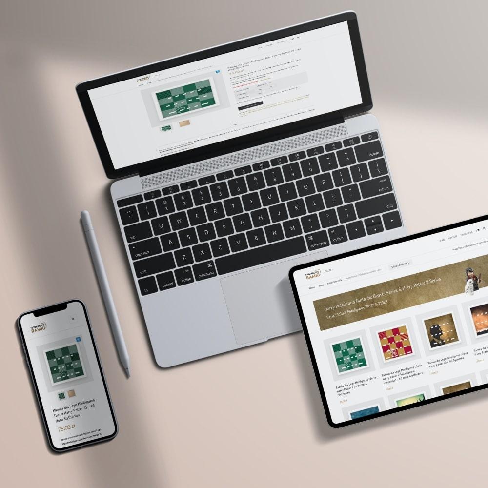 Figurkowe ramki - sklep online