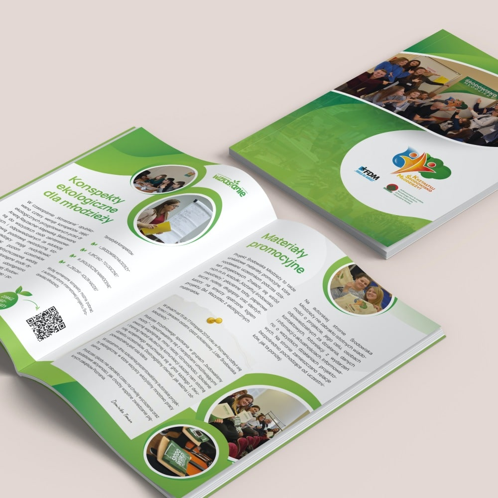 Folder A5 Środowisko Młodzieży