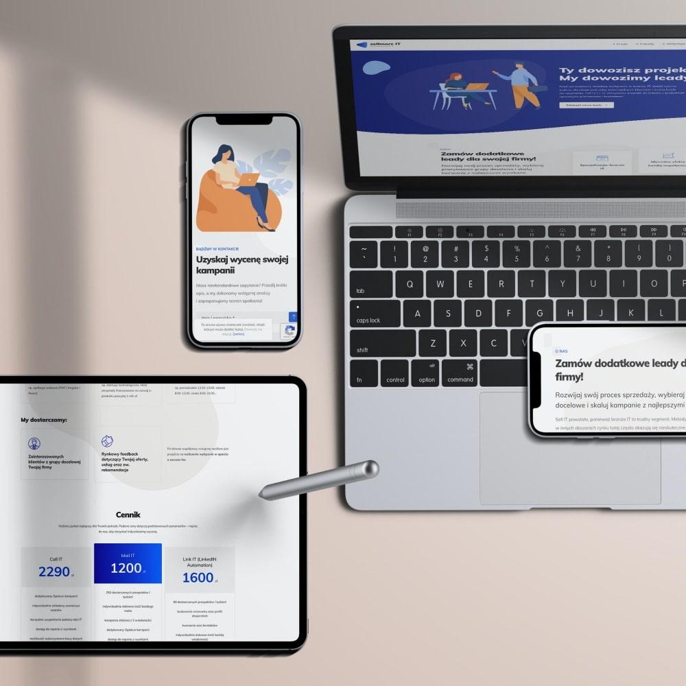 Sellmore IT - strona www
